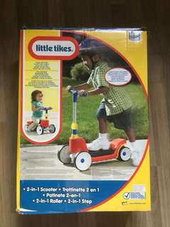 Little tikes 2-in-1 scooter