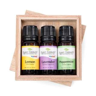 Plant Therapy 3 in 1 Set Lemon, Lavender and Peppermint Essential Oil