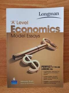 'A' Level Economics Model Essays by Edmund Quek