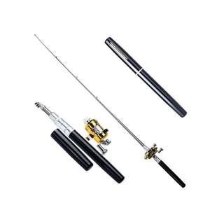 Alat Pancing Model Pulpen 1M / Mini Portable Pen Fishing Rod