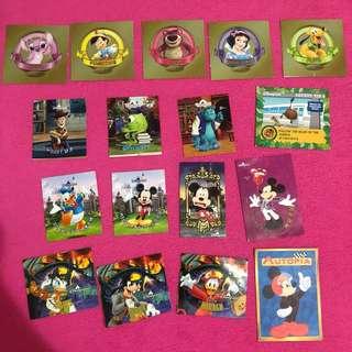 迪士尼貼紙 陳年舊款 已絕版