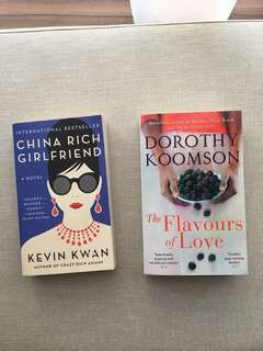 China rich girlfriend and The flavours of Love