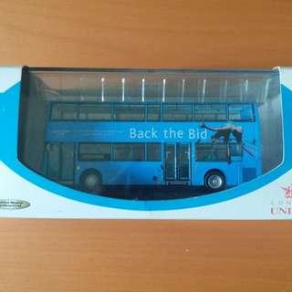 倫敦奧運紀念版巴士模型