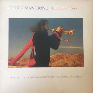 Chuck Mangione - Children of Sanchez film soundtrack on vinyl