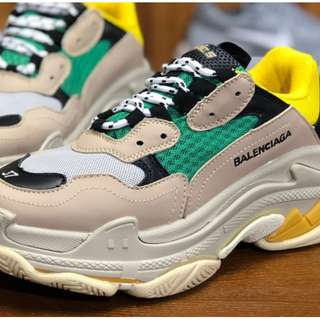 巴黎世家17FW 秋冬 Balenciaga Triple-S Sneaker復古球鞋