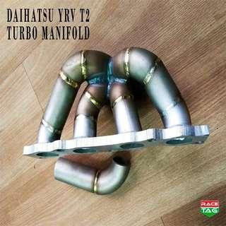DAIHATSU YRV T2 TURBO MANIFOLD EXHAUST