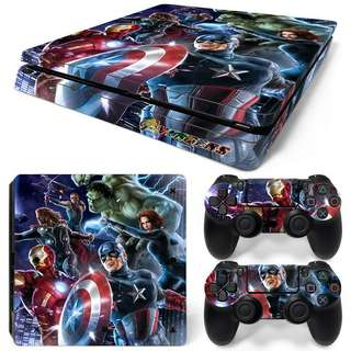 Avengers Age Of Ultron Body Skin Sticker For PS4 SLIM