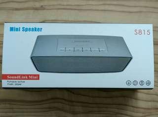 Bluetooth speaker mini S815