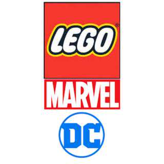 Lego Marvel Super Heroes and DC Comics Super Heroes