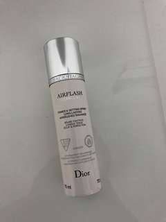 Dior Airflash primer and setting spray