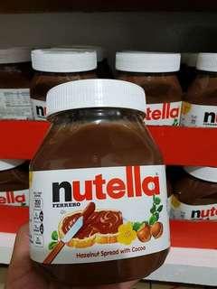 Nutella 400   Pringles 120