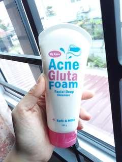 My kana acne gluta foam
