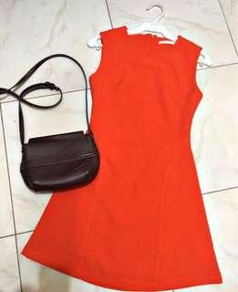Branded Orange Dress