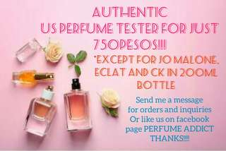 💯 AUTHENTIC US PERFUME TESTER