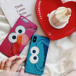 Elmo / Cookies Face Case (iph only)