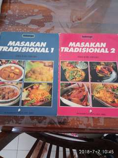 Recipe books from Malaysis