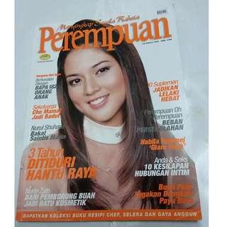 Majalah Perempuan Jun 2006 - cover Nurul Syuhada Nurul Ain