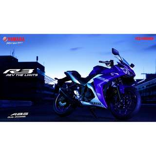 Ready Stock!! Yamaha R3 2018
