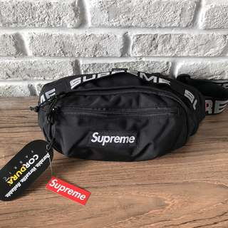 Stok 3 WaistBag SUPREME ss18 Black