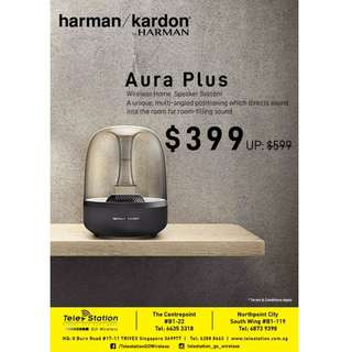 Harman Kardon Aura Studio Bluetooth Home Speaker
