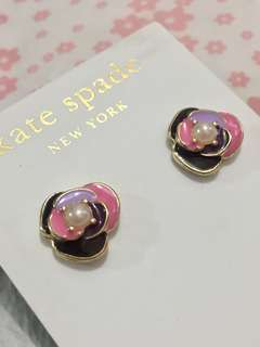Kate Spade Earrings 💐flower pearl