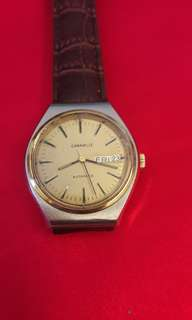 Vintages Swiss Caravelle Automatic Watch