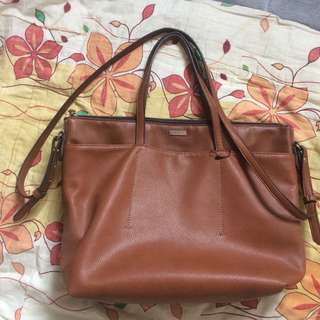 Mango tote with sling