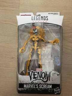 Hasbro marvel legend venom  marvels scream no baf