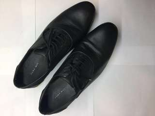 ZARA MAN Leather Shoes (Size 10)