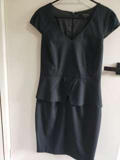Portman's Status Peplum Corporate Dress size 10
