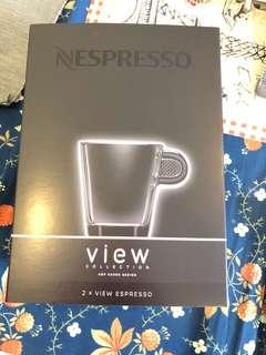 Nespresso 2 x View Espresso set