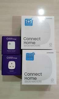 Samsung Home Connect with smart plug and motion sensor