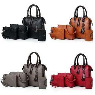 Handbag - 4 in 1 ready stock