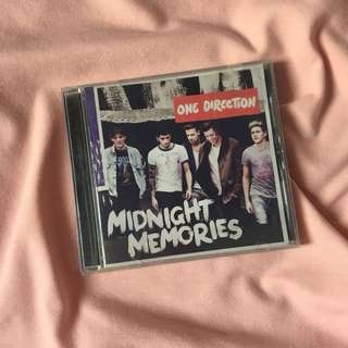 One Direction- Midnight Memories Album
