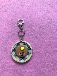 Pancake keychain