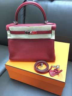 Hermes kelly 28 rose wood