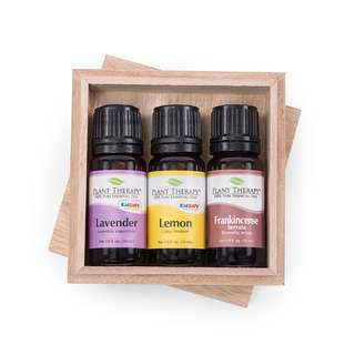 Plant Therapy Top 3 Singles Set Essential Oil