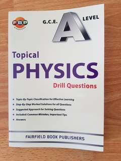 H2 Physics Topical Drill Questions