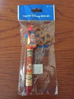 Tokyo Disneyland Mickey Mouse Pretzel Pen