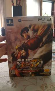 Street fighter kolektor item PS3 original bluray