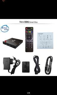 (Po)Android 7.1 8G/16G remote control cortex A53 Tv Box media player