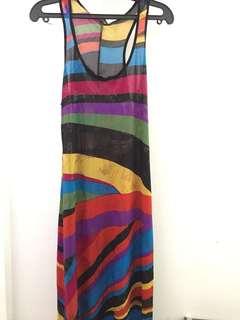 Silky Long Dress