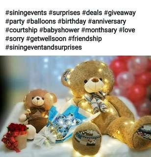 Teddy bear and other stuffed toys