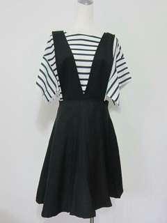 🚚 純黑薄料背心裙