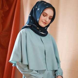 MLA - 0418 - Dress Gamis Busana Muslim Wanita Ramadhan Cape
