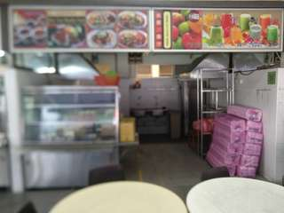 Food stall for rent