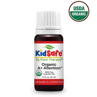Plant Therapy A+ Attention KidSafe Organic Essential Oil 10ml