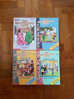 The Babysitters Club books!!