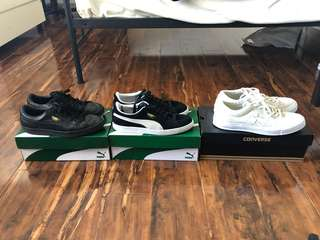 Puma and Converse For Sale