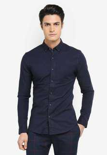 Topman Muscle Fit Oxford